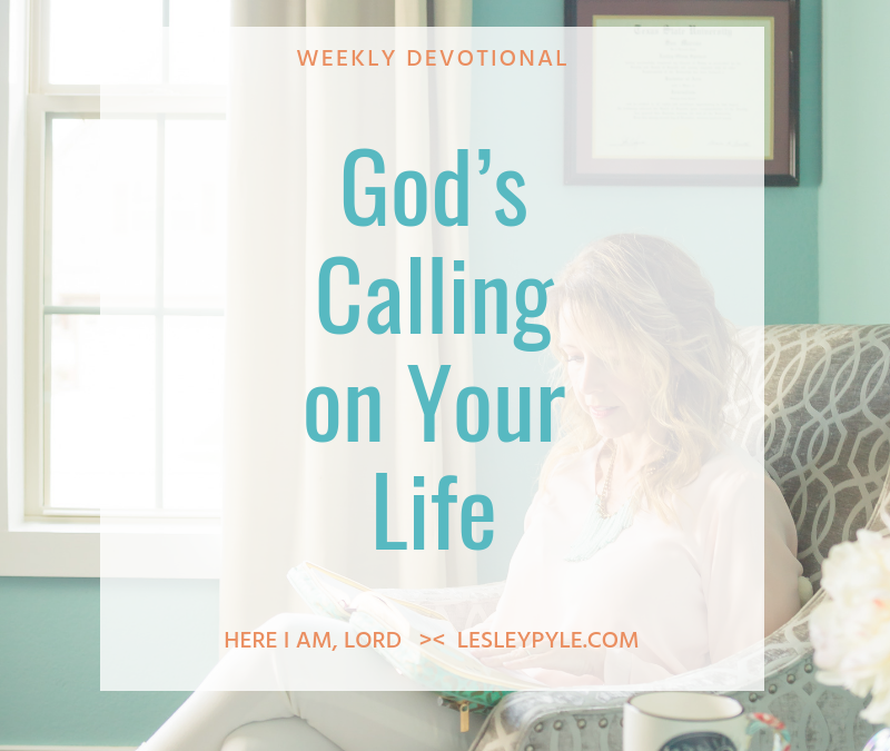 God's Calling on Your Life