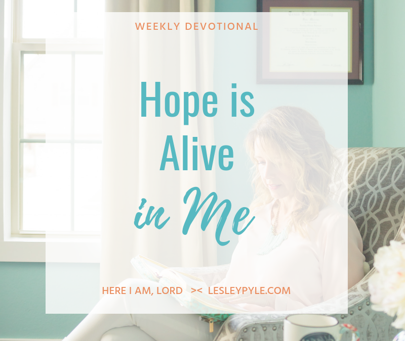 Hope is Alive in Me
