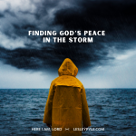 Finding God's Peace in the Storm